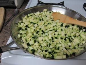 Zucchini, ready to go